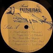 Arcade Fire Funeral