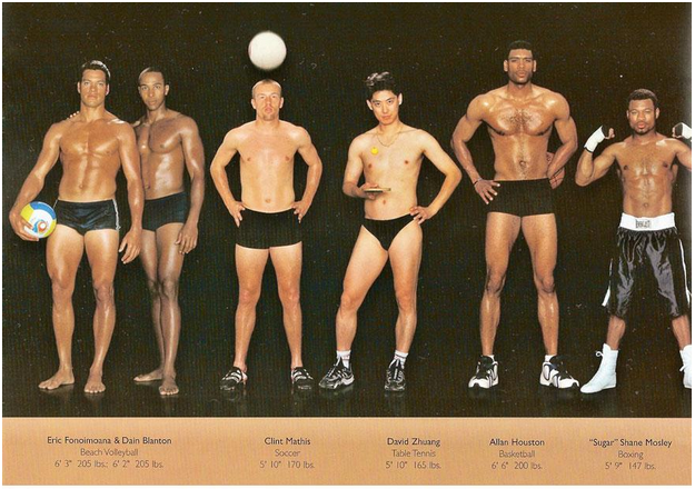 Male Athlete Bodies