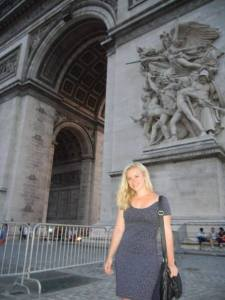 Kelsey in France